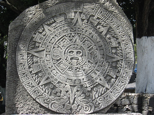 Aztec Tattoo Designs Of all the Aztec symbols, the Aztec Calendar is